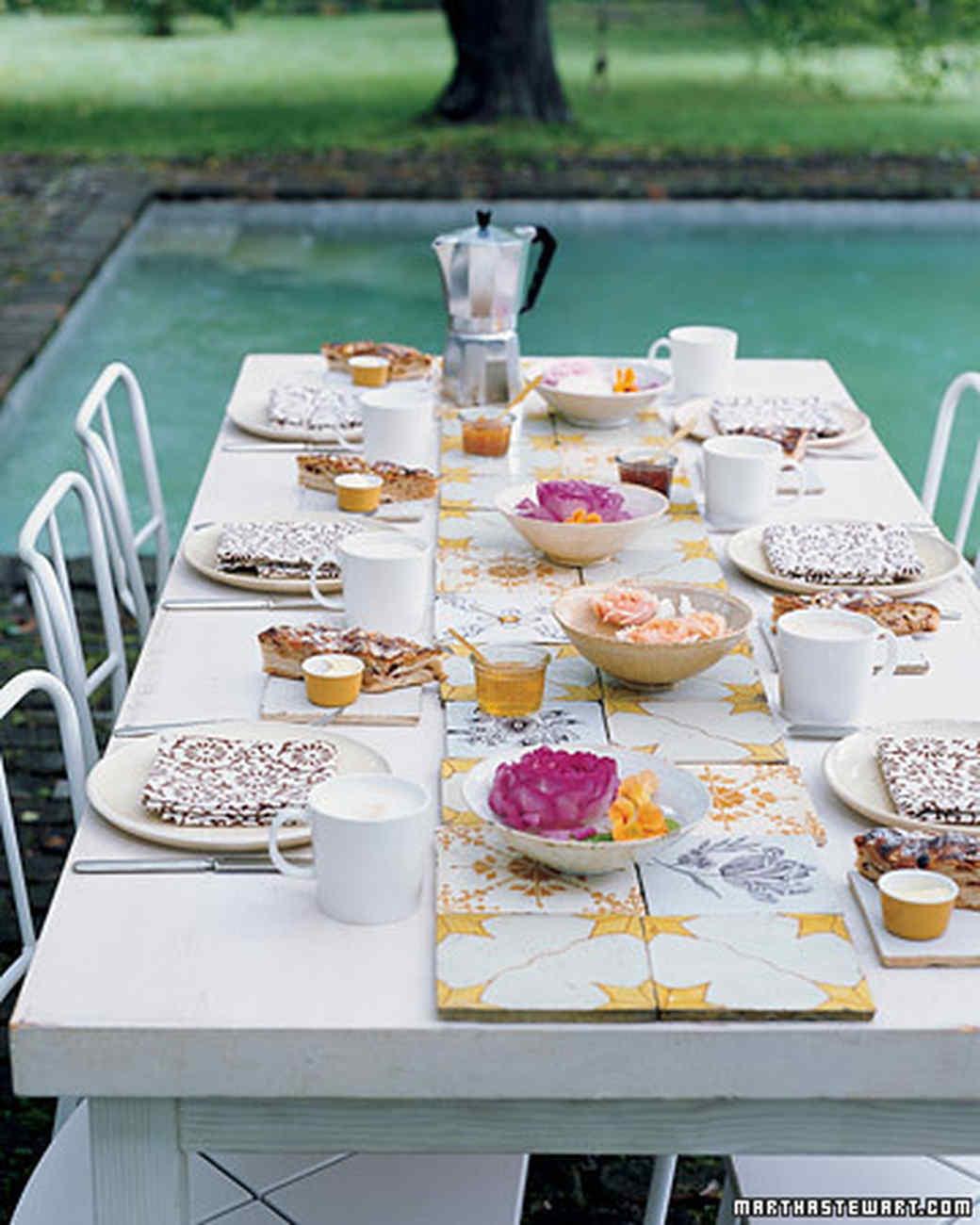 garden party ideas martha stewart - Garden Party Ideas