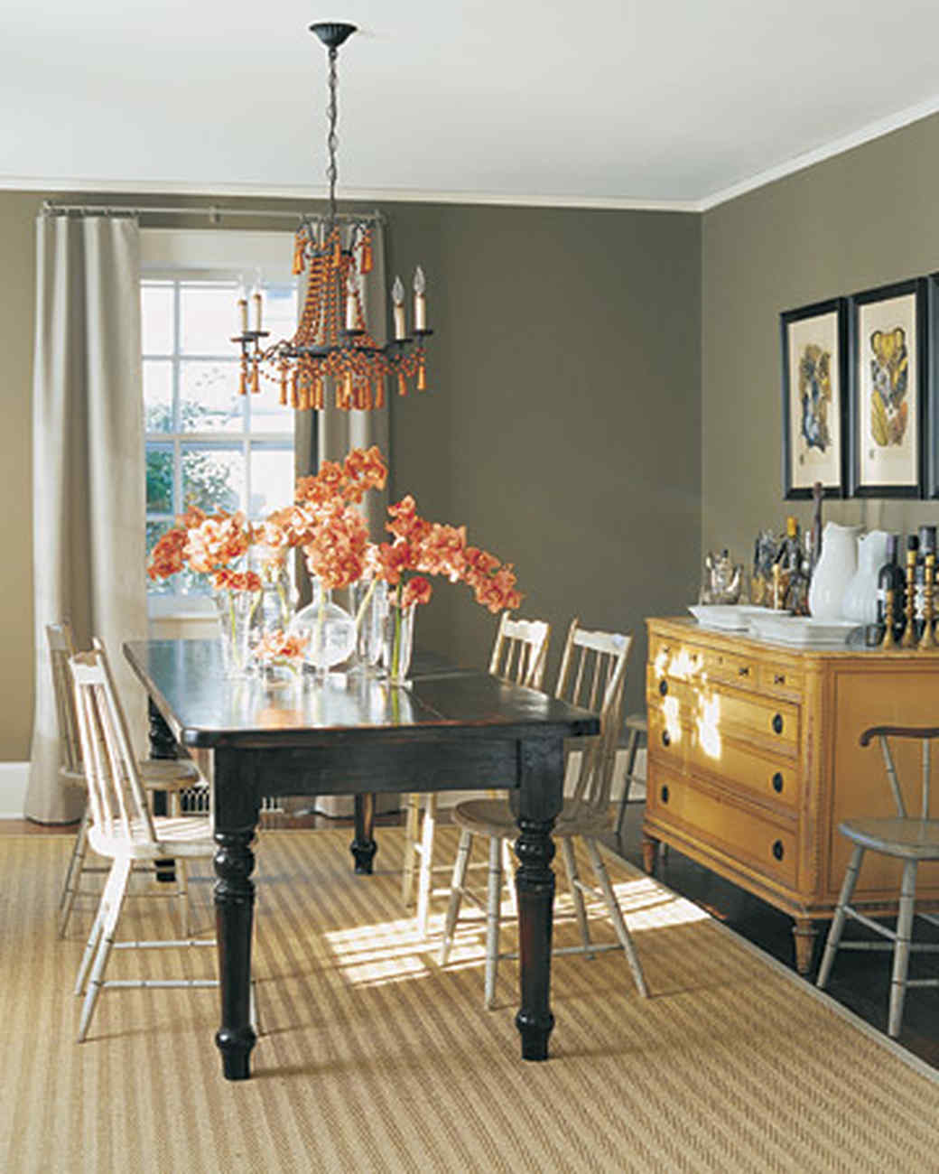 dining room color palette.  Neutral Rooms Martha Stewart