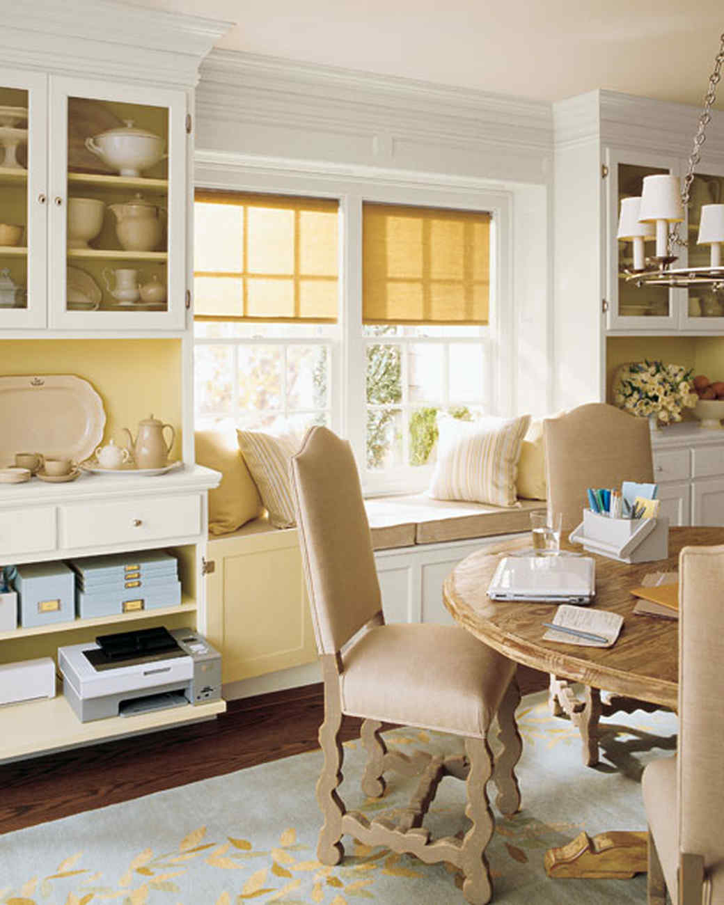 Clever Office Unexpected Space Martha Stewart