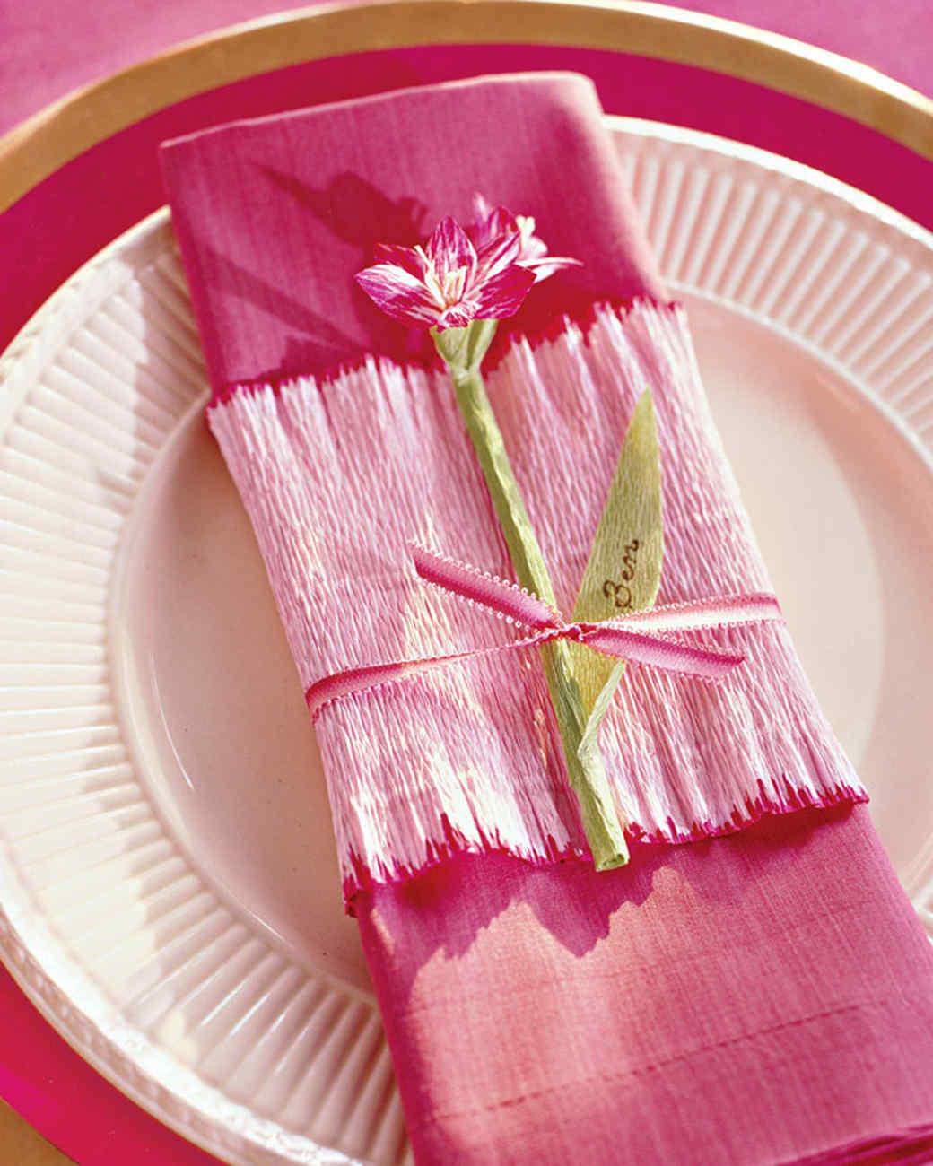 Tissue And Crepe Paper Crafts Martha Stewart