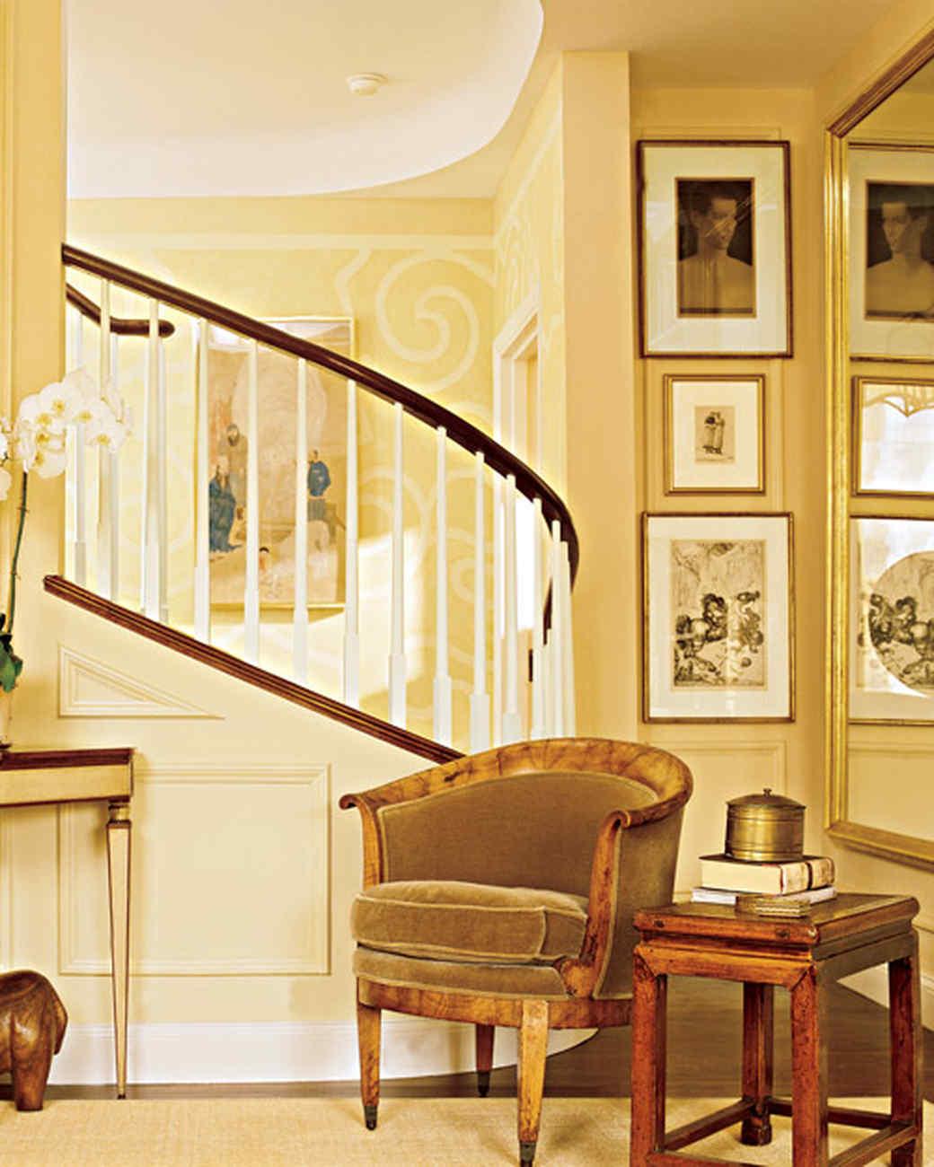 Golden Glow Yellow Rooms Martha Stewart