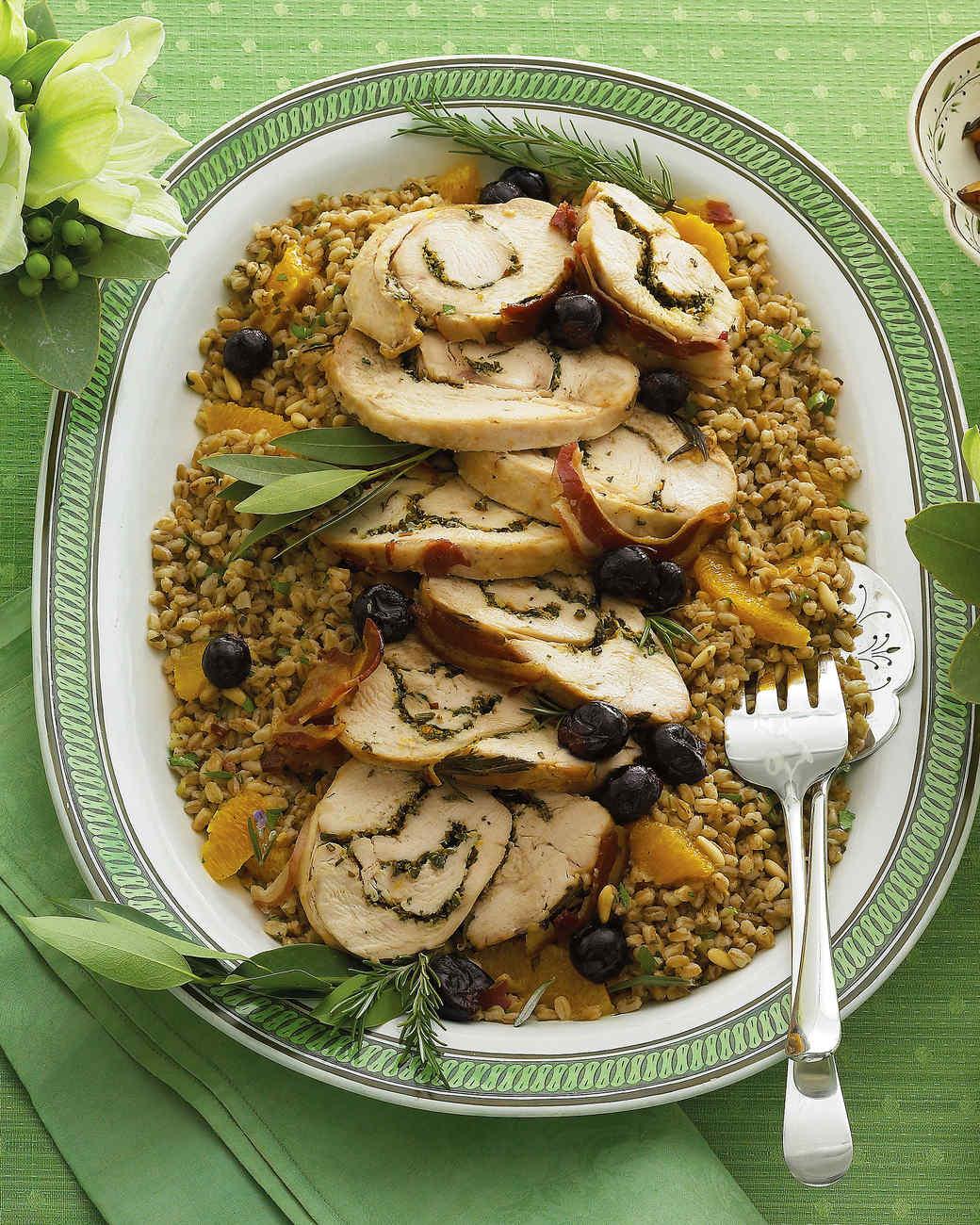 Buffet Main Dish Recipes Martha Stewart