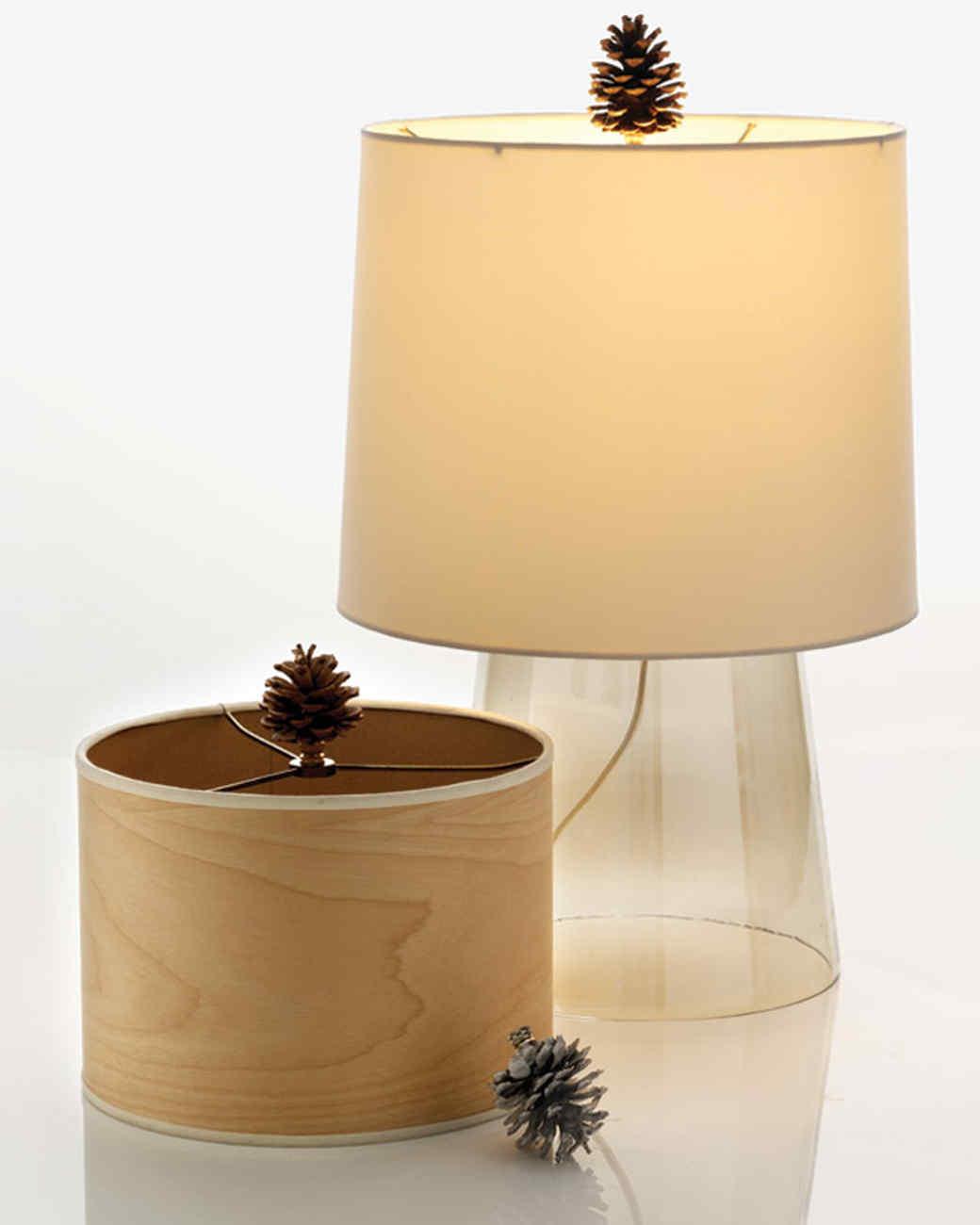 Pinecone Lamp Finial