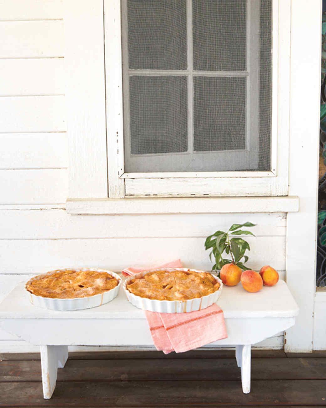 Cornmeal Crust for Peach Potpie