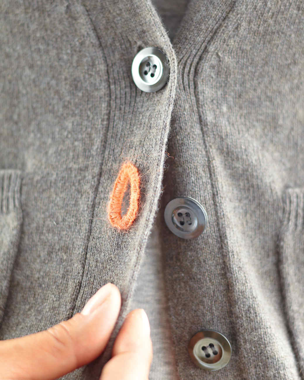 How To Mend Your Knits Darning Holes Snagged Threads And Frayed