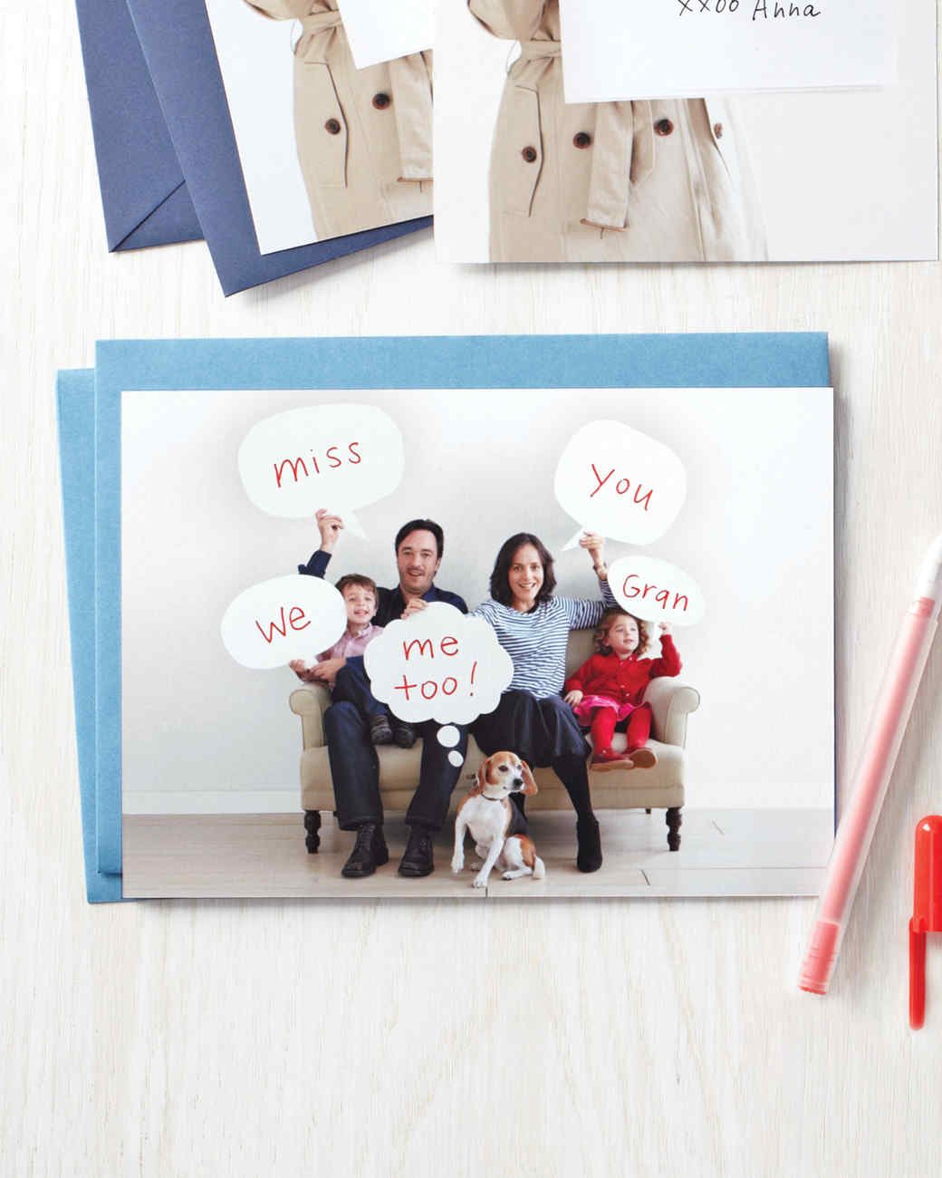 Word Bubble Photo Card