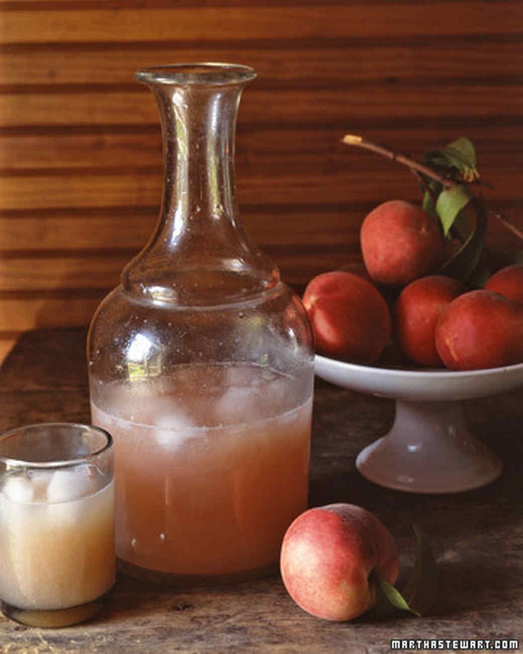 White Peach Juice