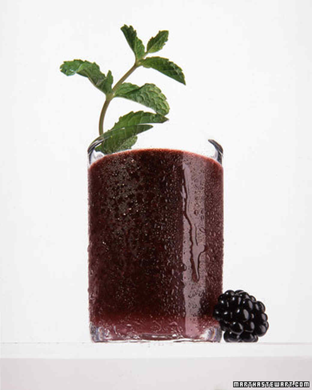 blackberry mint julep