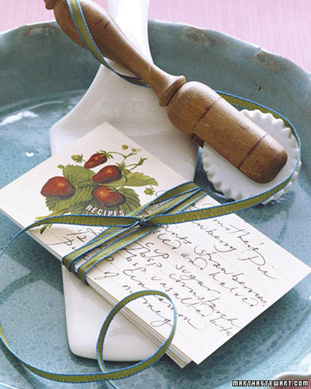 Keepsake Recipe Cards