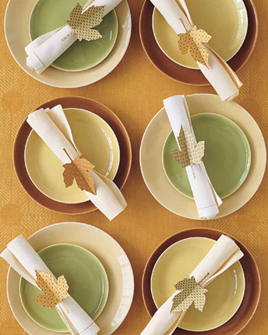 Toilet Paper Napkin Rings Thanksgiving