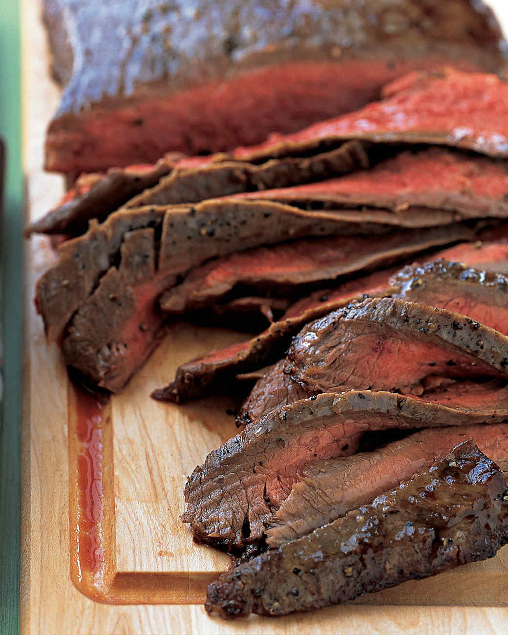 Flank Steak with Onions, Peppers, and Beans Recipe | Martha Stewart