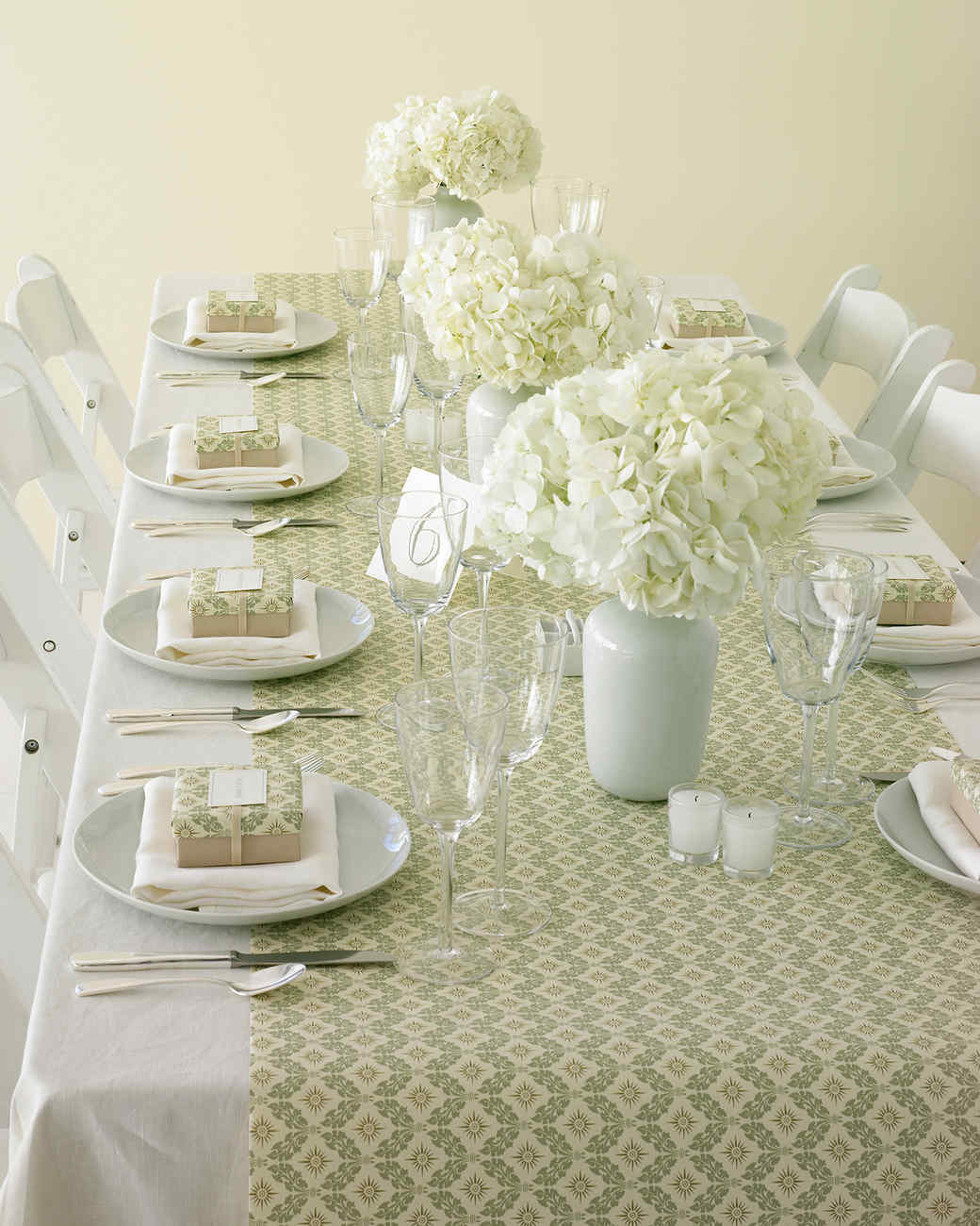 Wrapping-Paper Table Runner