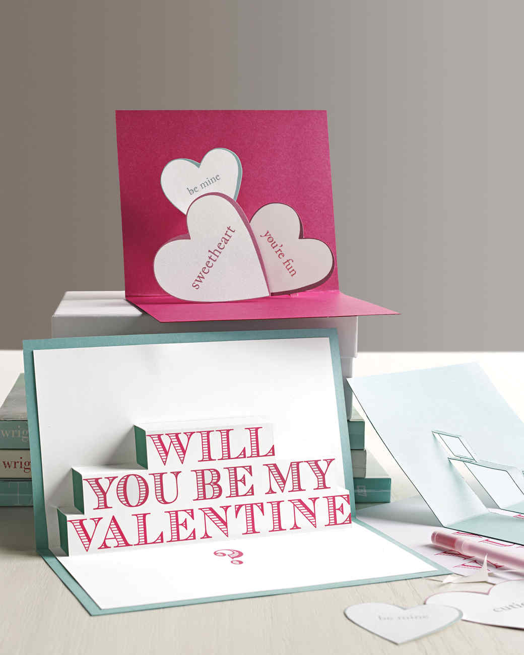 3 d valentines day cards martha stewart come right out and say it kristyandbryce Choice Image