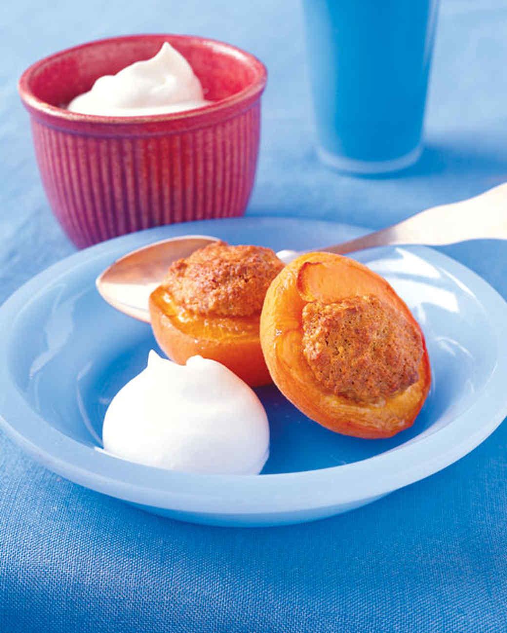 Baked Stuffed Apricots