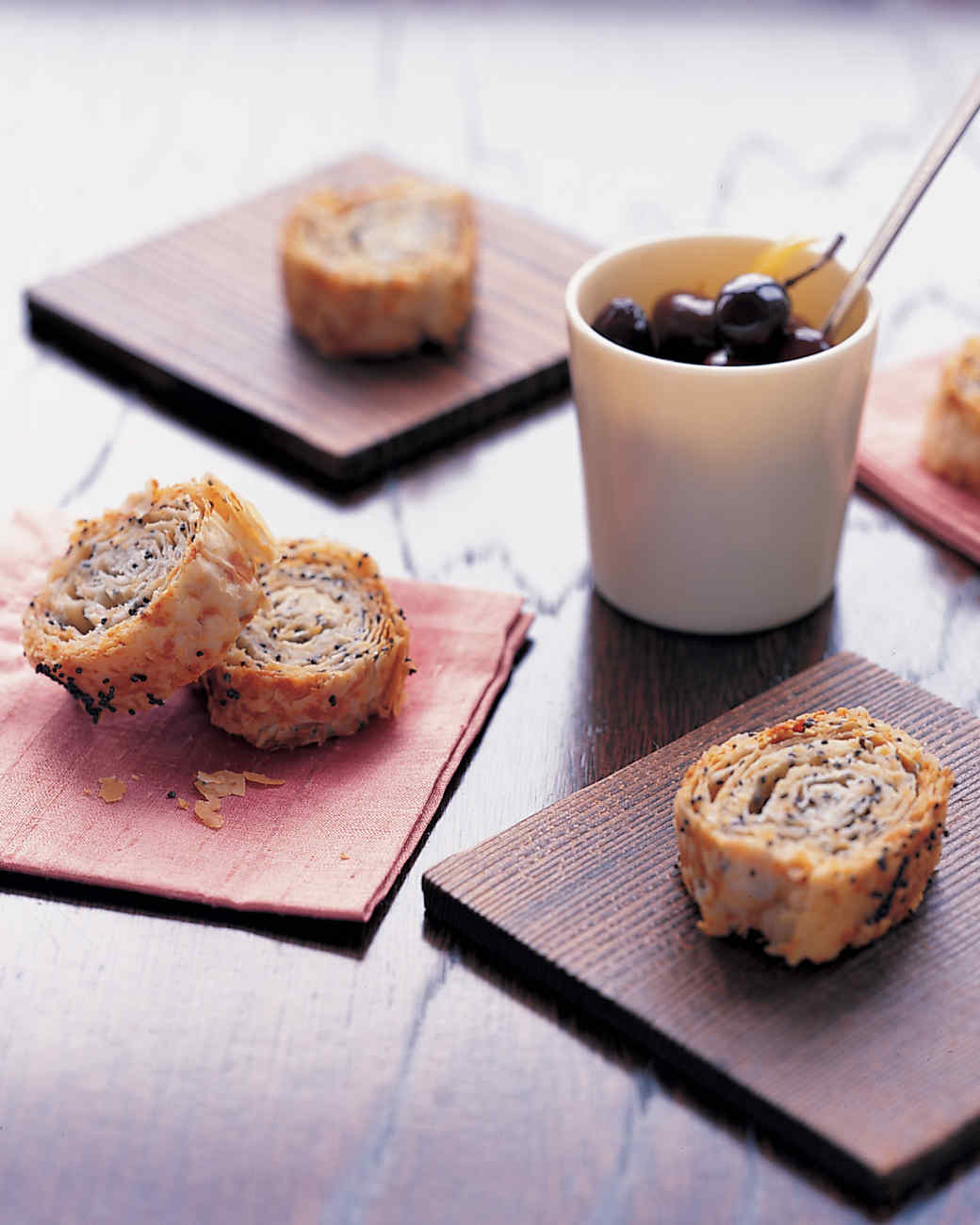 Twice-Baked Cheese Strudel