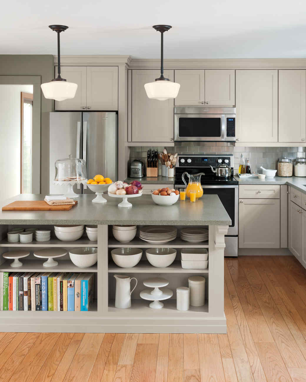 Select Your Kitchen Style Martha Stewart - Shaker style furniture for your kitchen cabinets