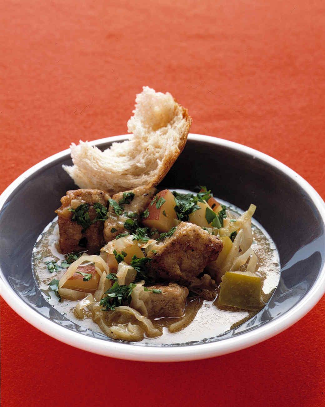Pork-and-Apple Stew