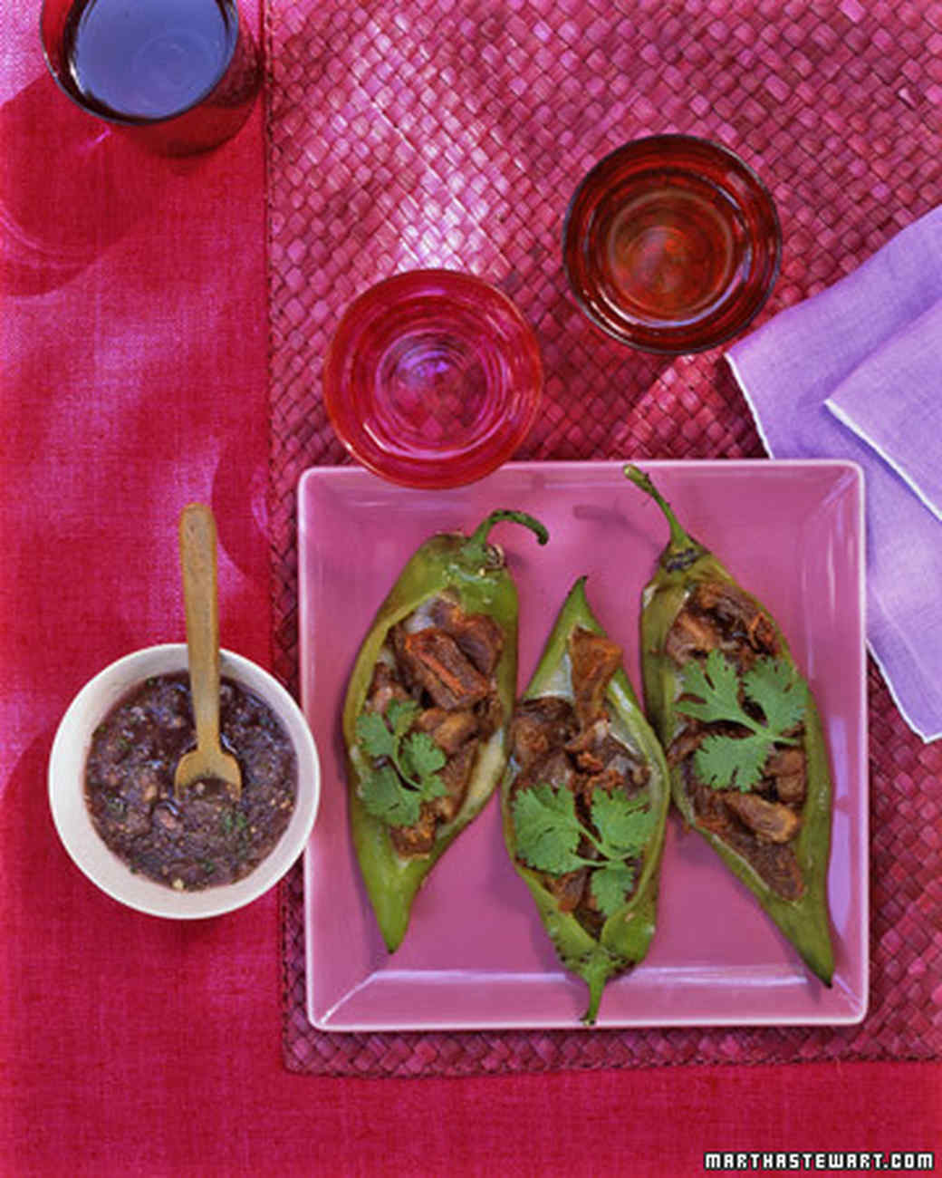 Quick Purple Tomatillo Sauce