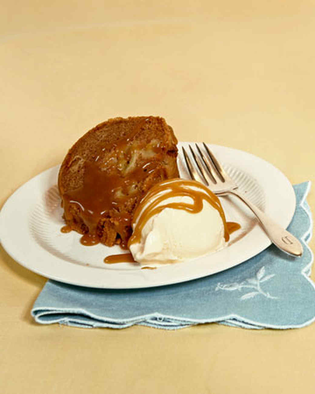 Apple Spice Cake Recipe & Video | Martha Stewart