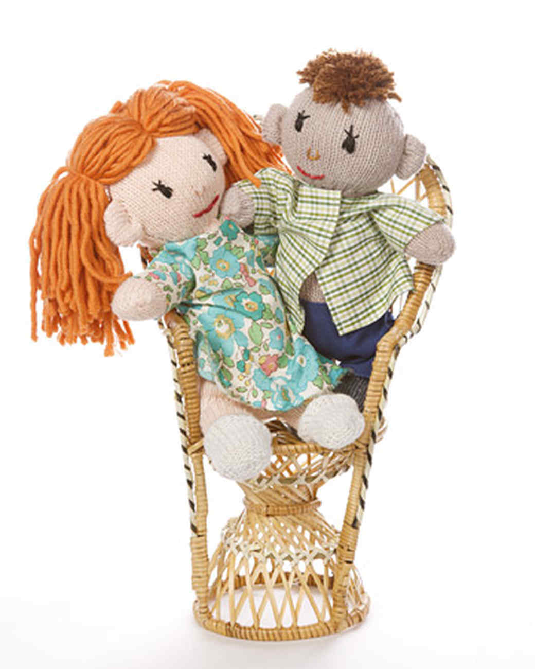 Boy and Girl Glove Dolls