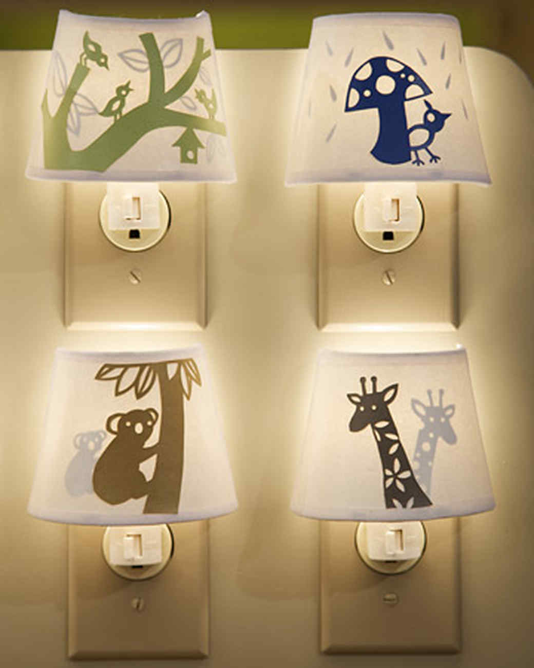 Paper-Cutout Night-Lights