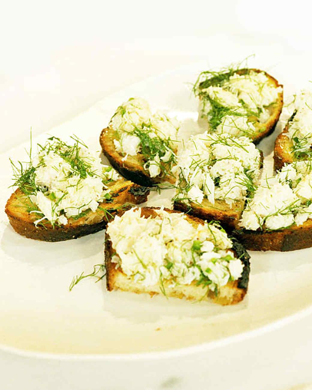 Peekytoe Crab Toast