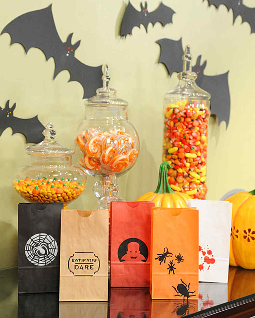 halloween treat bags and favors | martha stewart
