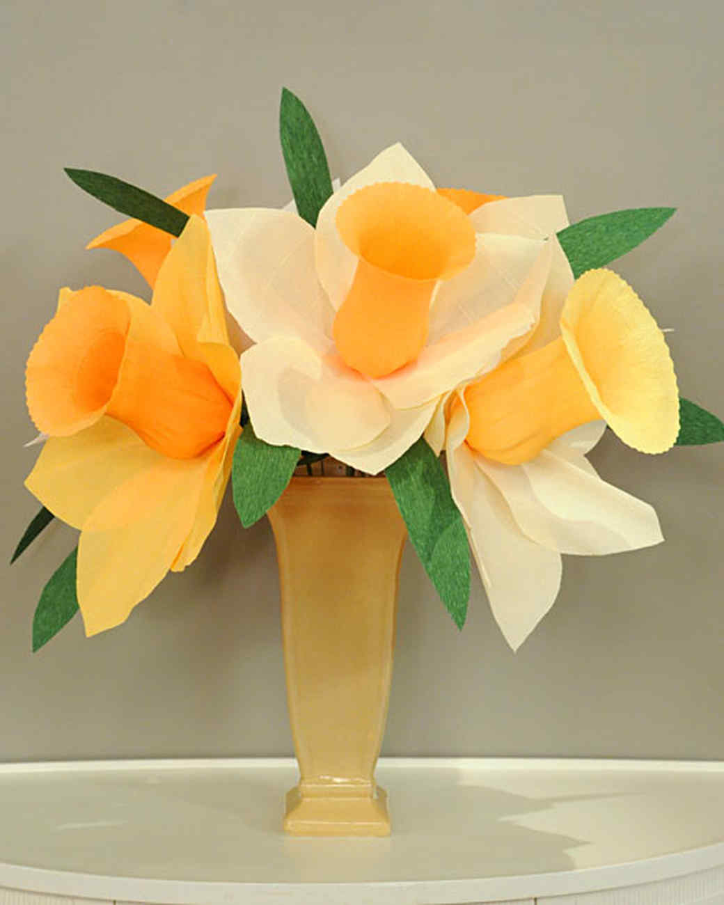 Craft templates martha stewart crepe paper daffodil mightylinksfo