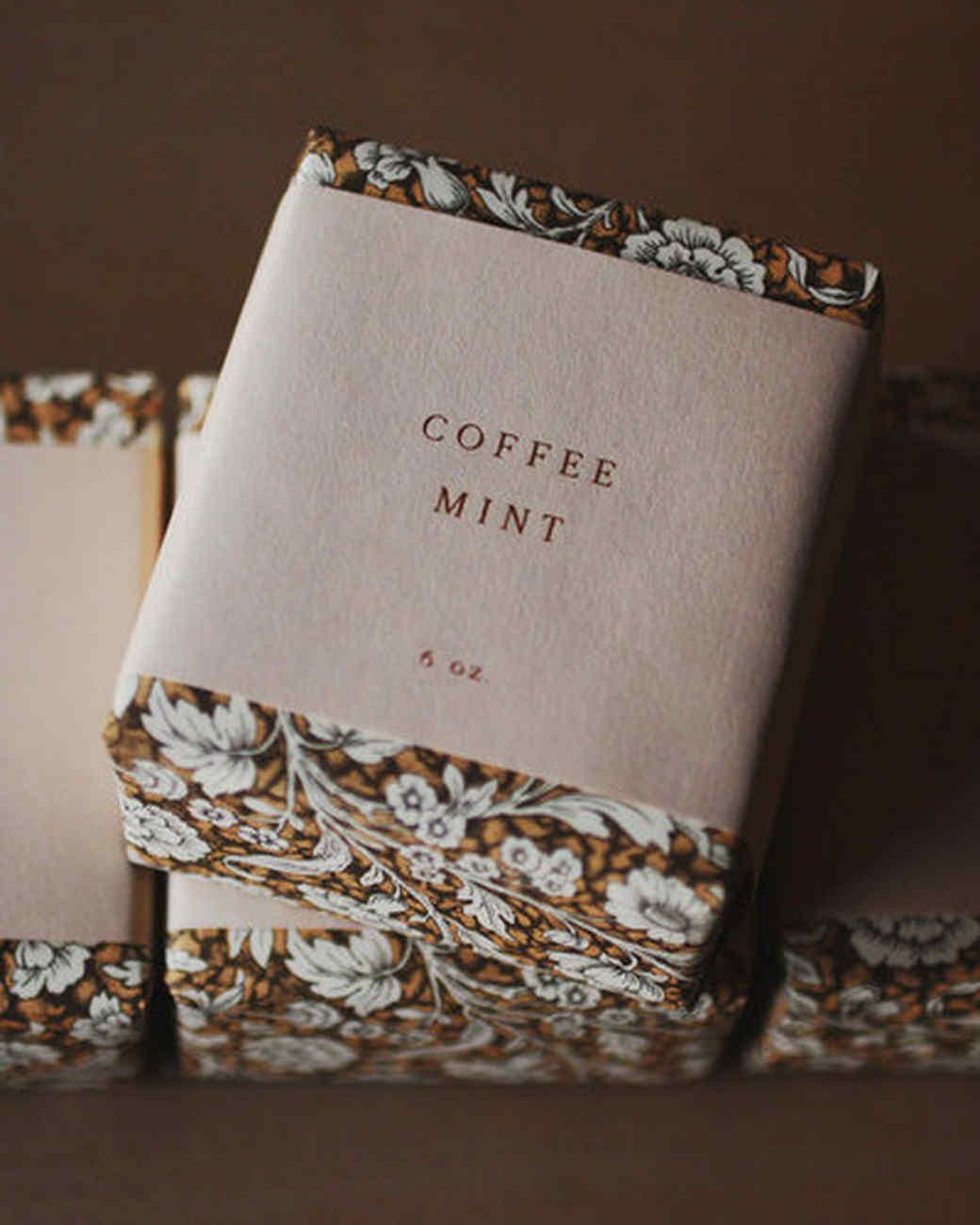 Saipua coffee mint soap