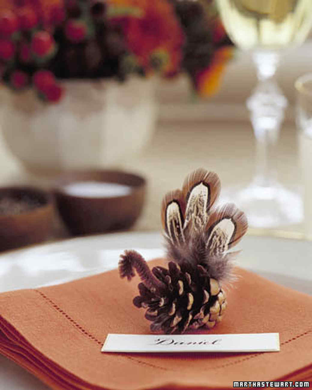 Pinecone turkey martha stewart