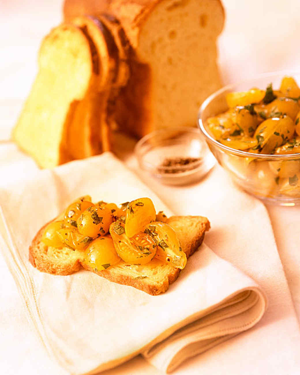 Golden Bruschetta