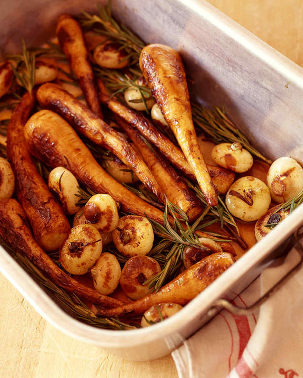 Roasted Parsnips and Onions