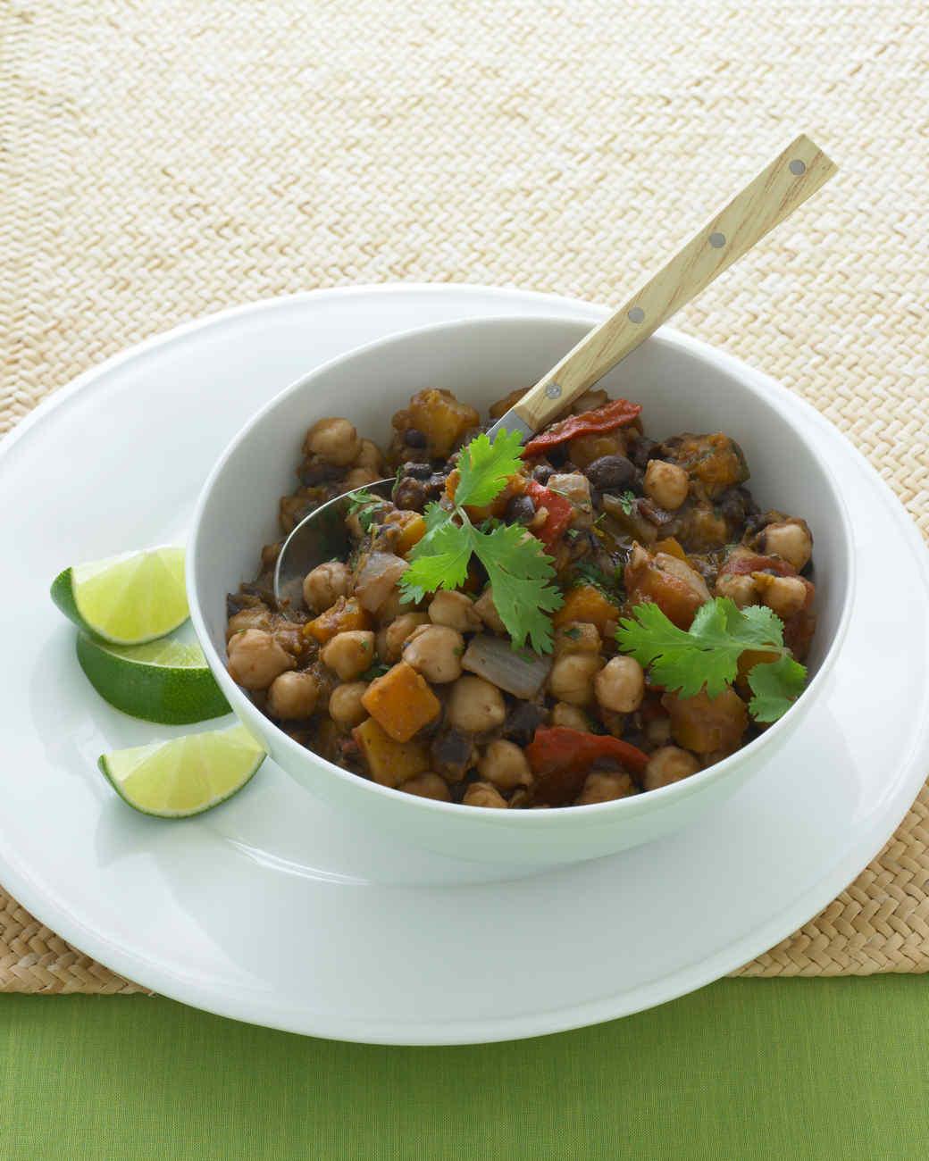 Two-Bean Vegetarian Chili