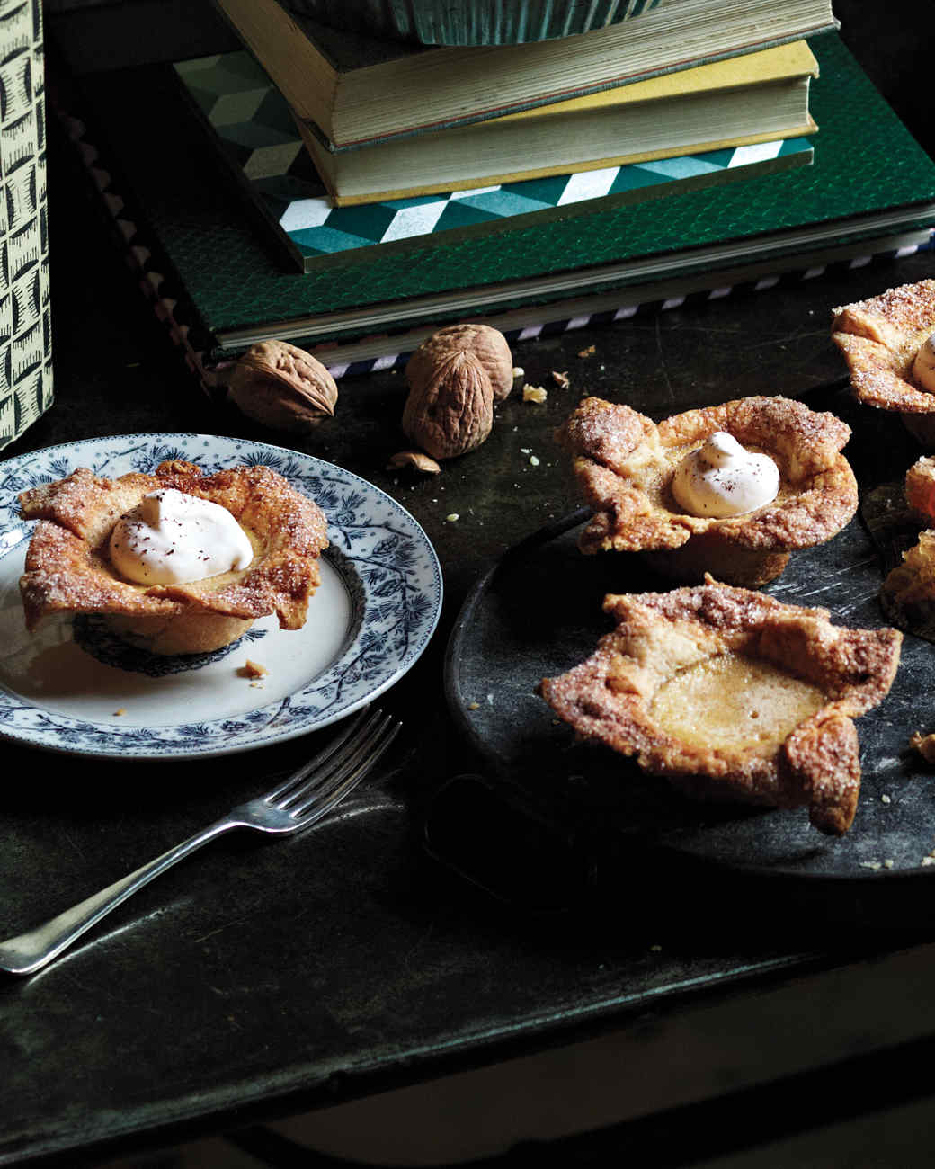 mini custard pies