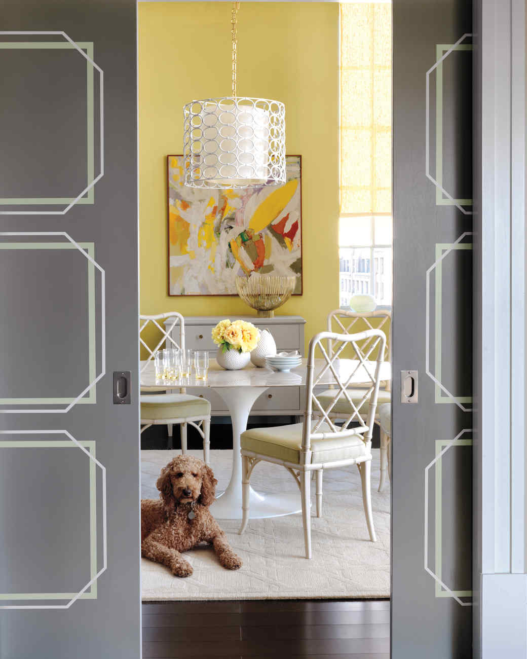 Geometric Door Design.   & Door Projects | Martha Stewart