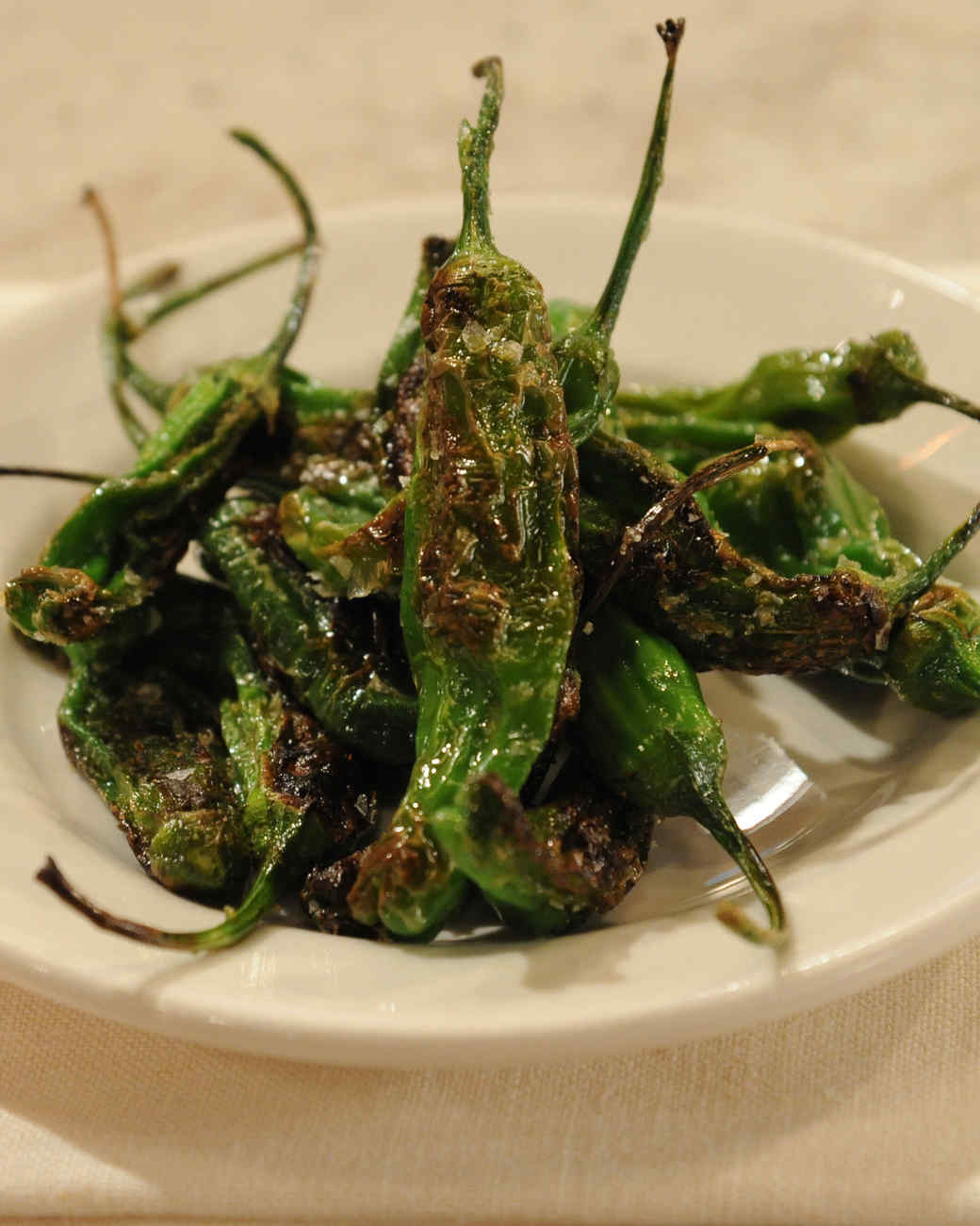Pimientos de Padron Recipe & Video | Martha Stewart