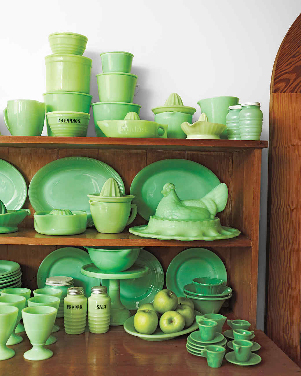 Jadeite Citrus Reamers & Martha\u0027s Jadeite Collection | Martha Stewart