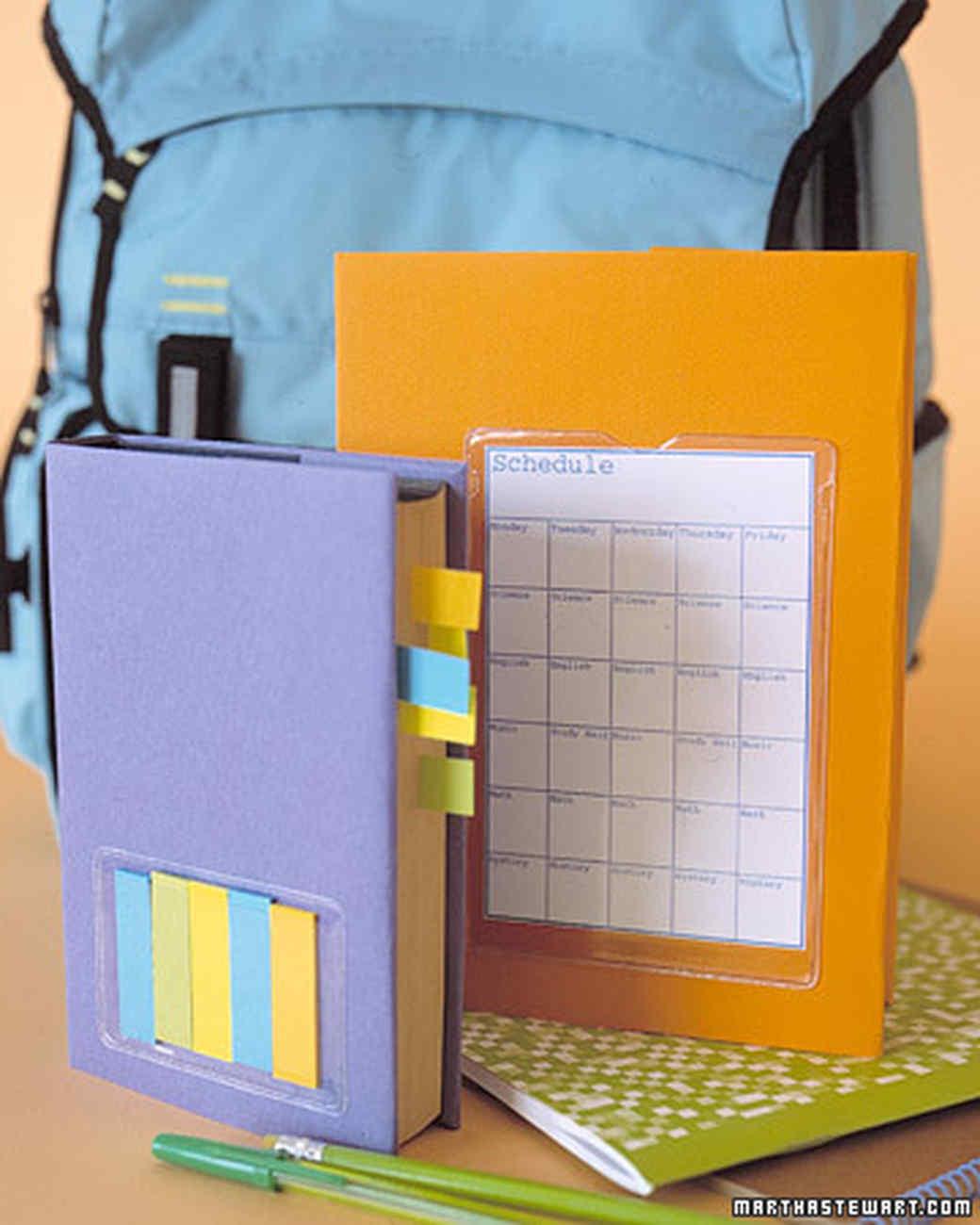 Textbook Cover: Plastic Pocket