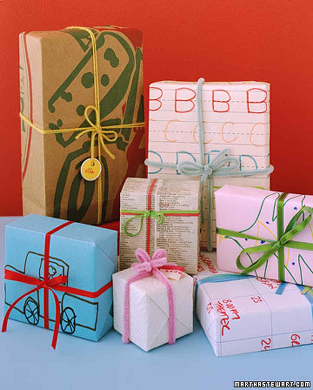 Gift wrapping ideas for kids martha stewart - Envolver regalos de forma original ...