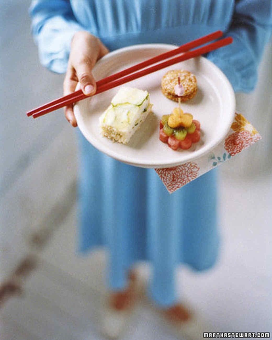 Cucumber Rice Sandwiches