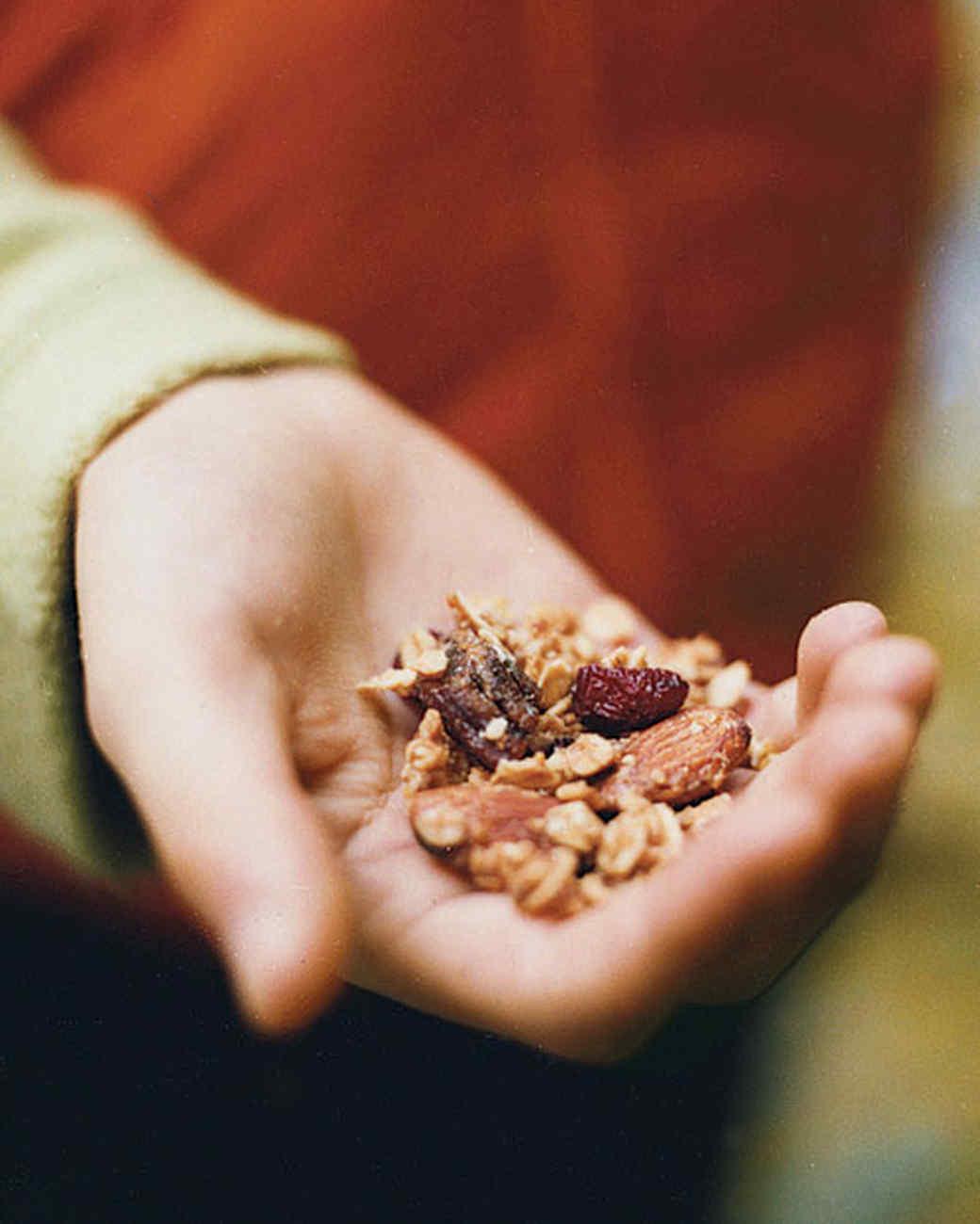 Maple-Almond-Banana Trail Mix