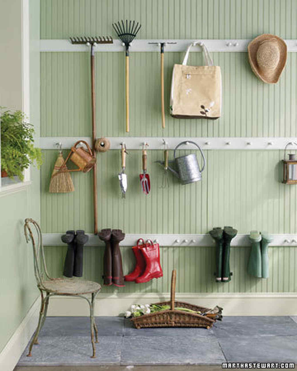 15 Ingenious Garage Organization: Peg Rail Organizer | Homesteading Today Ideas To Get You Started