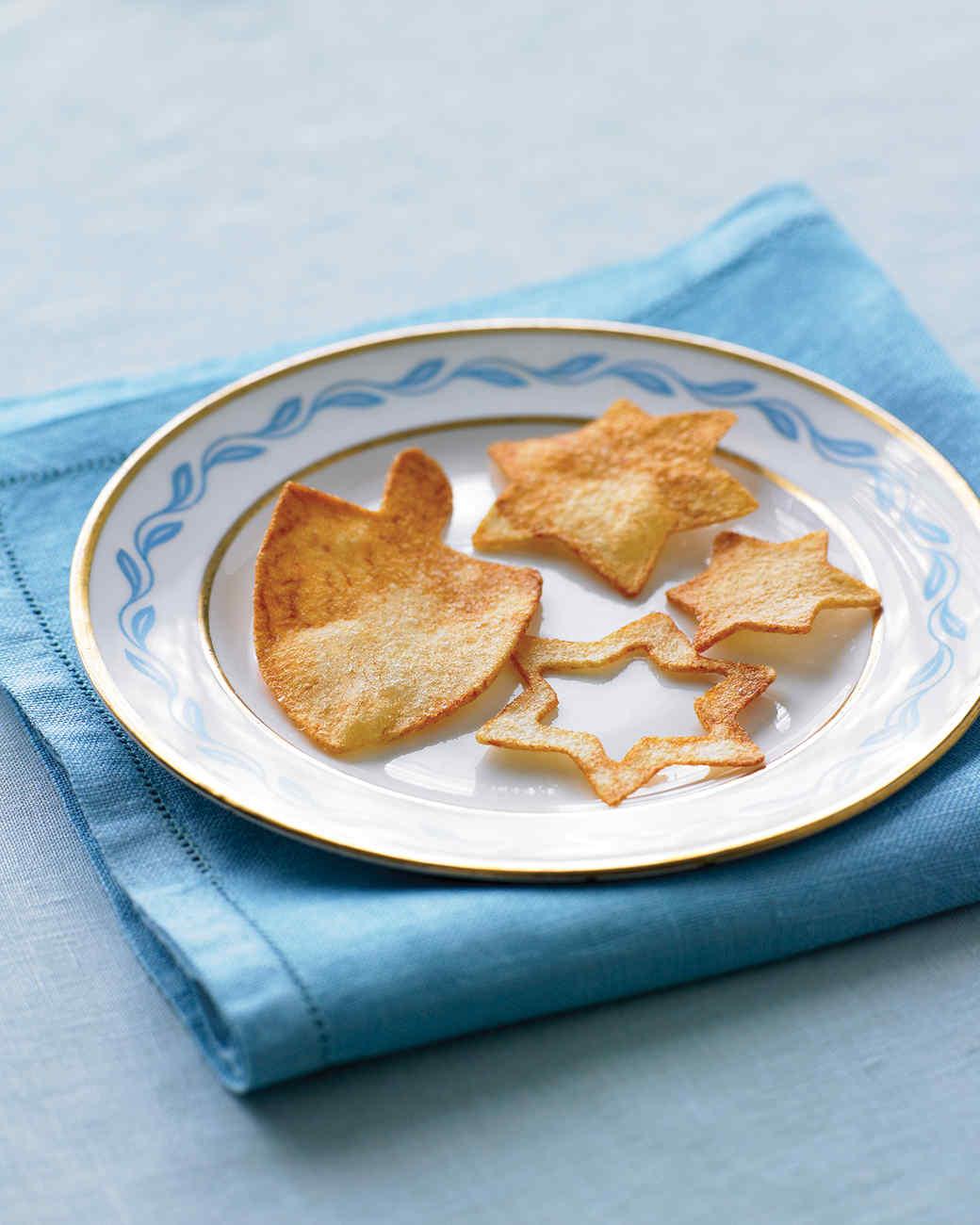 Hanukkah Potato Chips