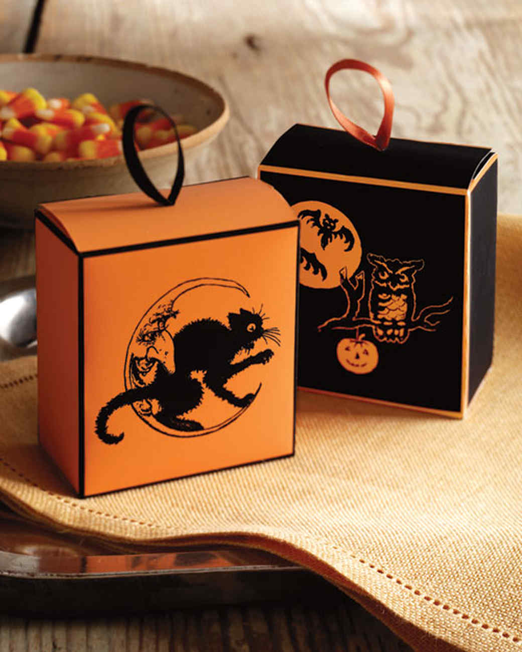 Halloween Clip-Art Candy Boxes