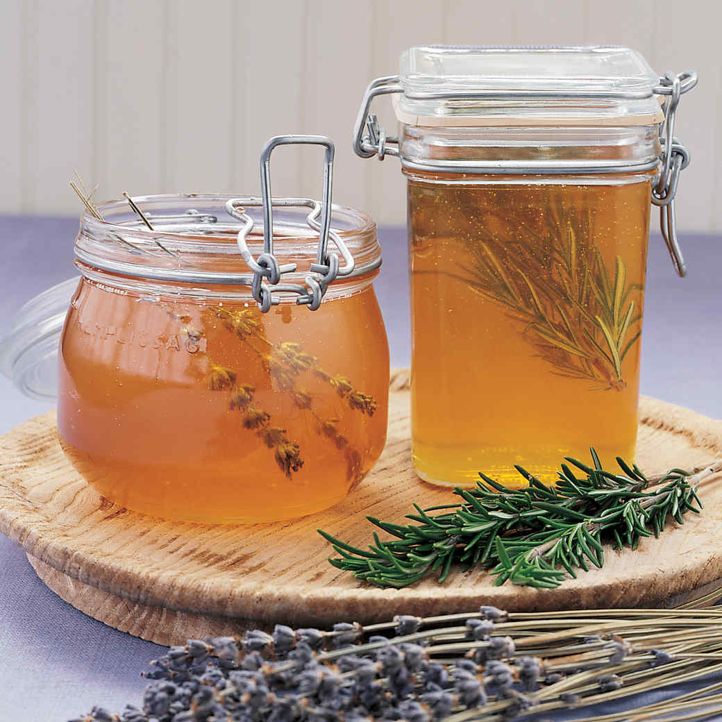 Herb-Infused Honey