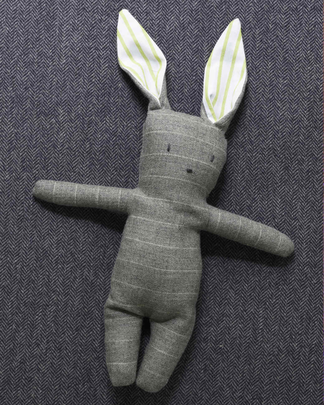 Stuffed Menswear Bunny