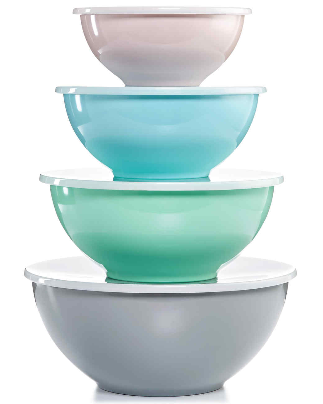 macys pastel mixing bowls lids