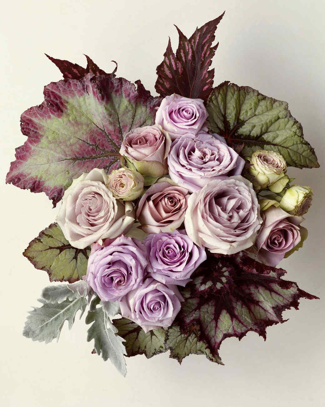 Lavender Rose Arrangement Martha Stewart