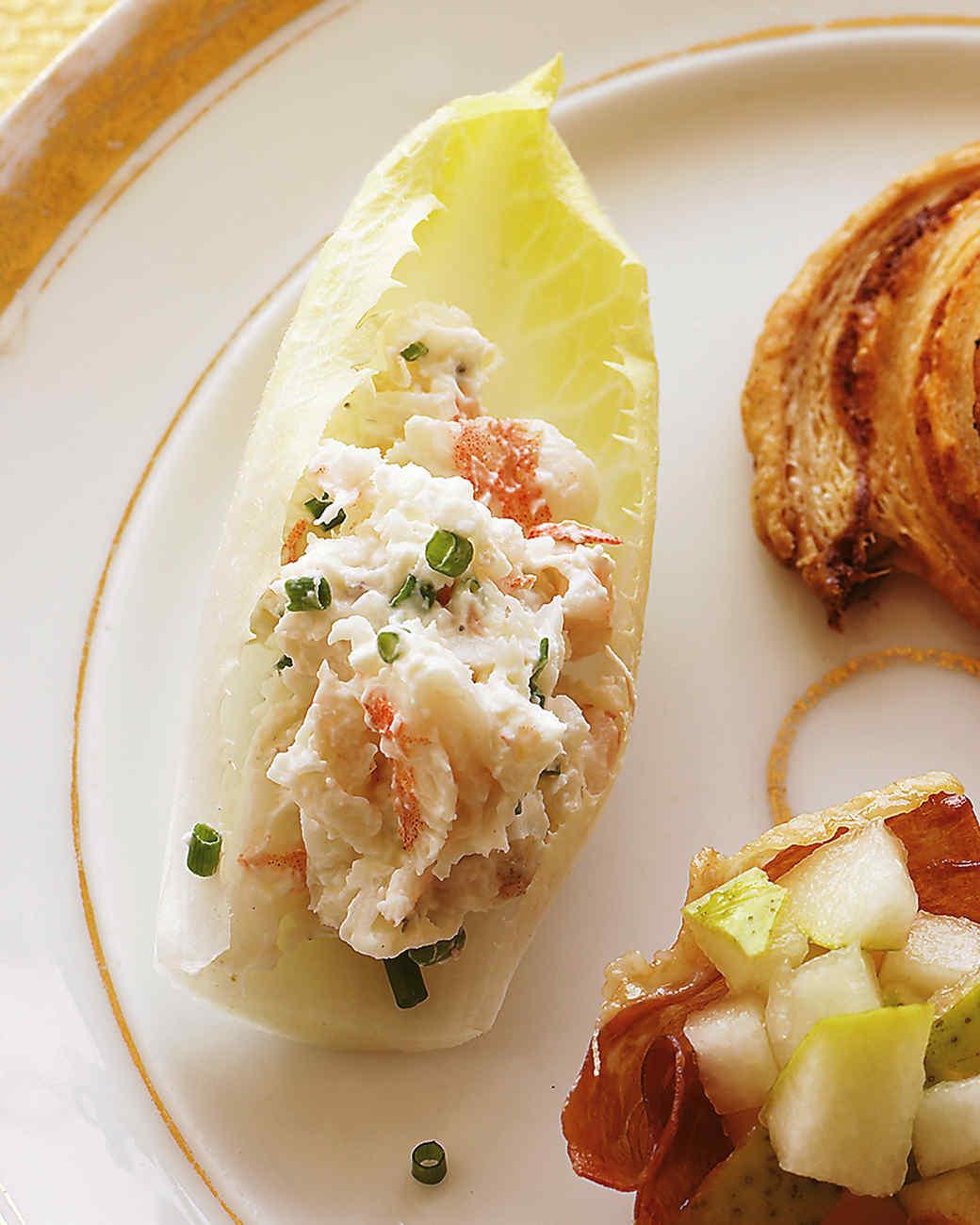 Endive with Shrimp Salad