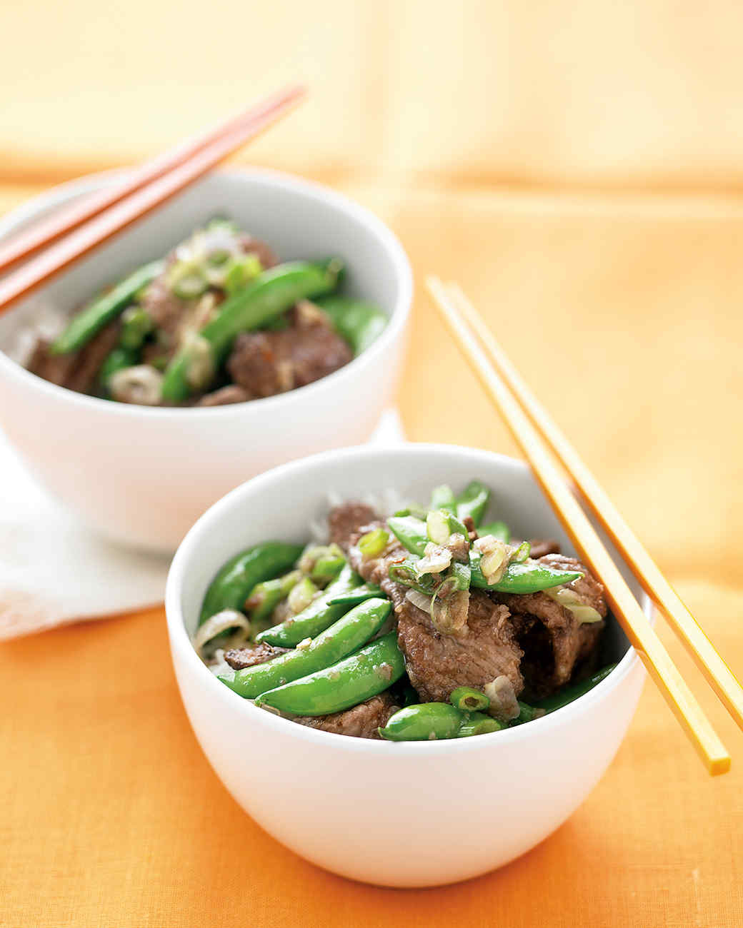 Beef Stir-Fry with Snap Peas